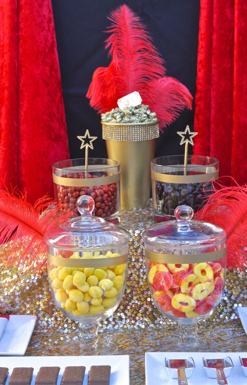 Swell Oscars Party Candy Buffet Make Life Lovely Interior Design Ideas Inesswwsoteloinfo