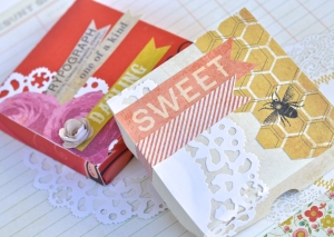 Treat Box with Sizzix Pizza Box die