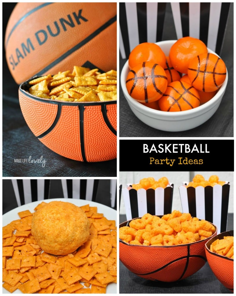 Basketbal Party Ideas