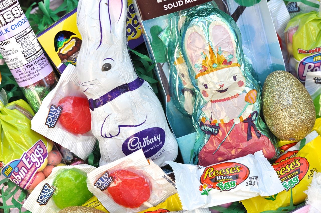 DIY girl Easter basket ideas