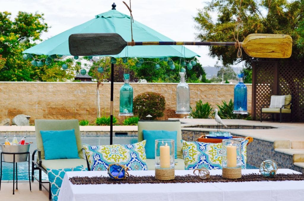 Nautical Outdoor Space Refresh