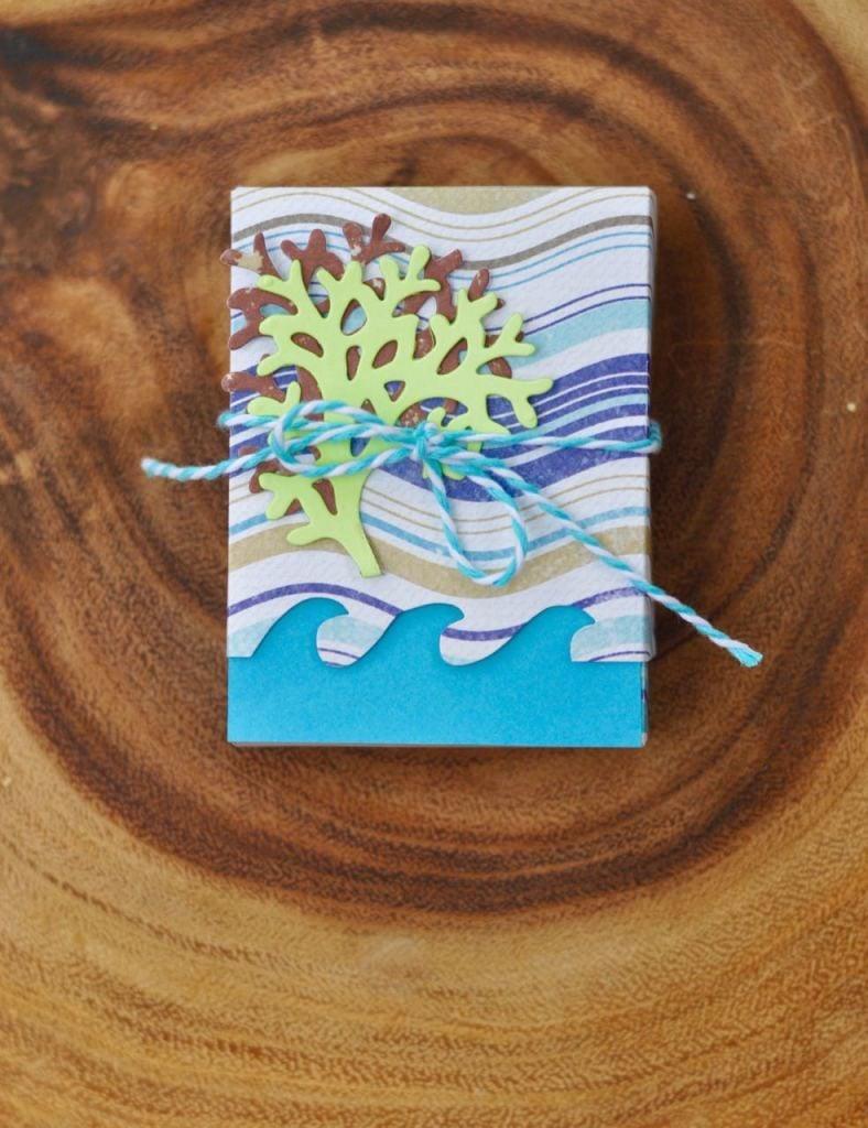 Nautical Ocean Waves Box