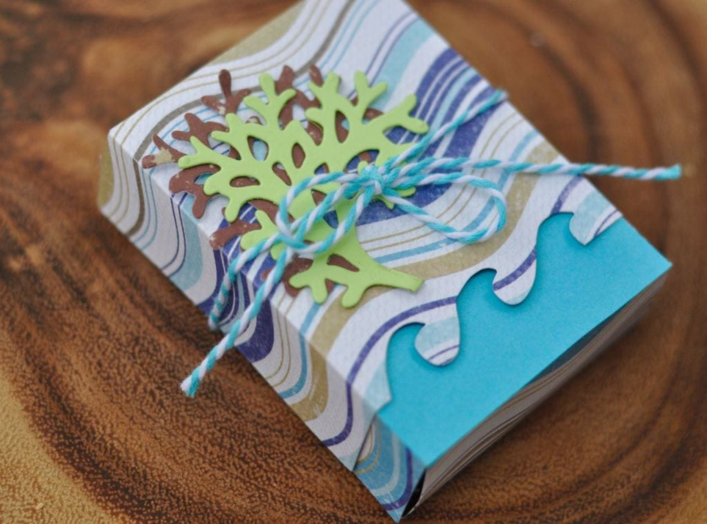 Nautical Ocean Box with Sizzix