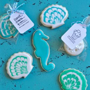 How to Decorate Seashell Cookies + $250 Visa Card Giveaway