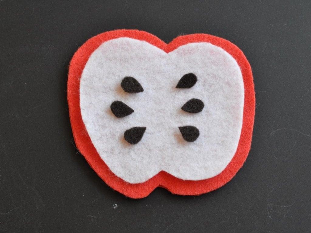 DIY Bean Bag Apple