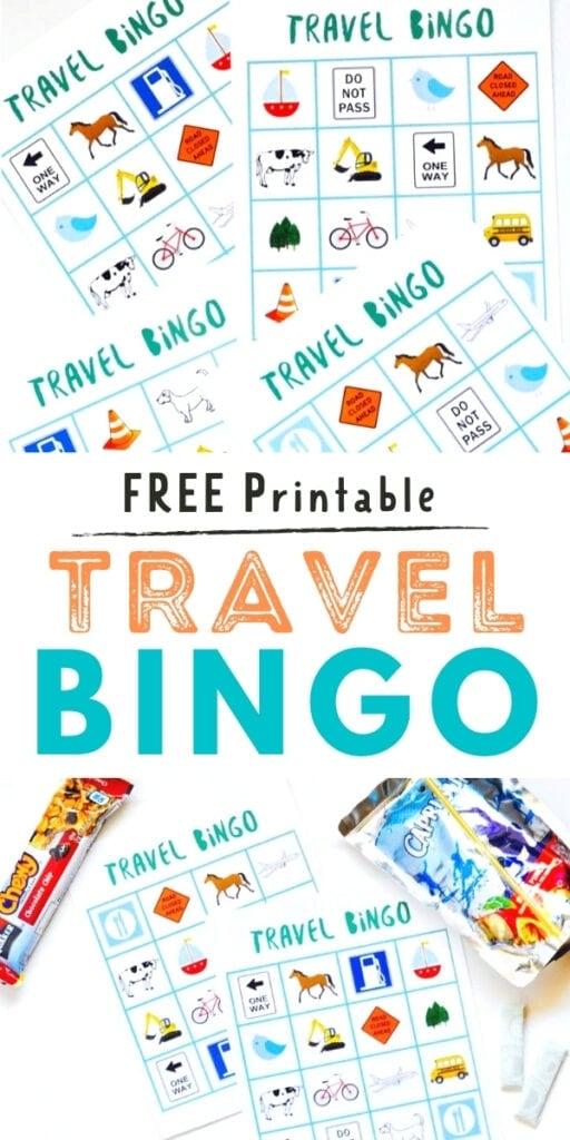 travel bingo cards