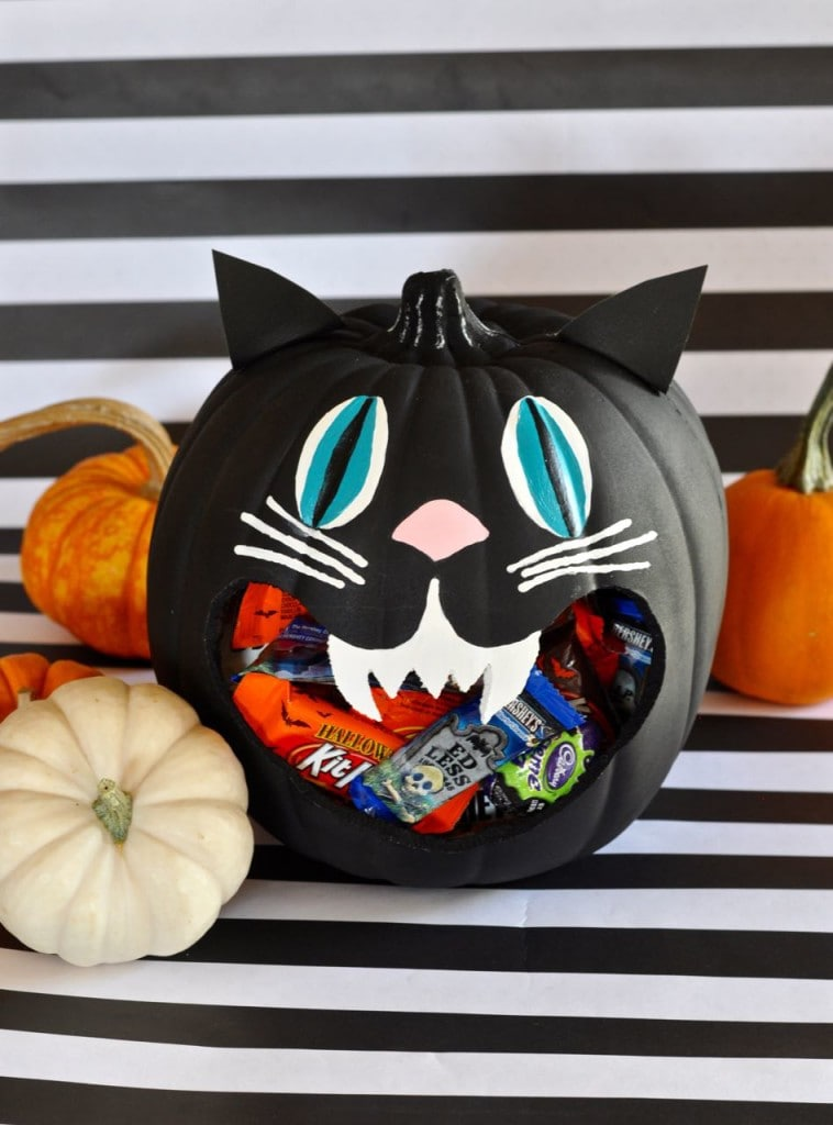 DIY Halloween Candy Dish Holder