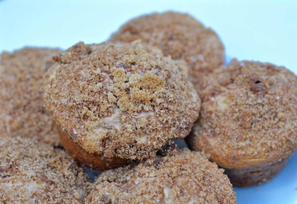 Apple Cinnamon Coffee Cake Muffins Recipe