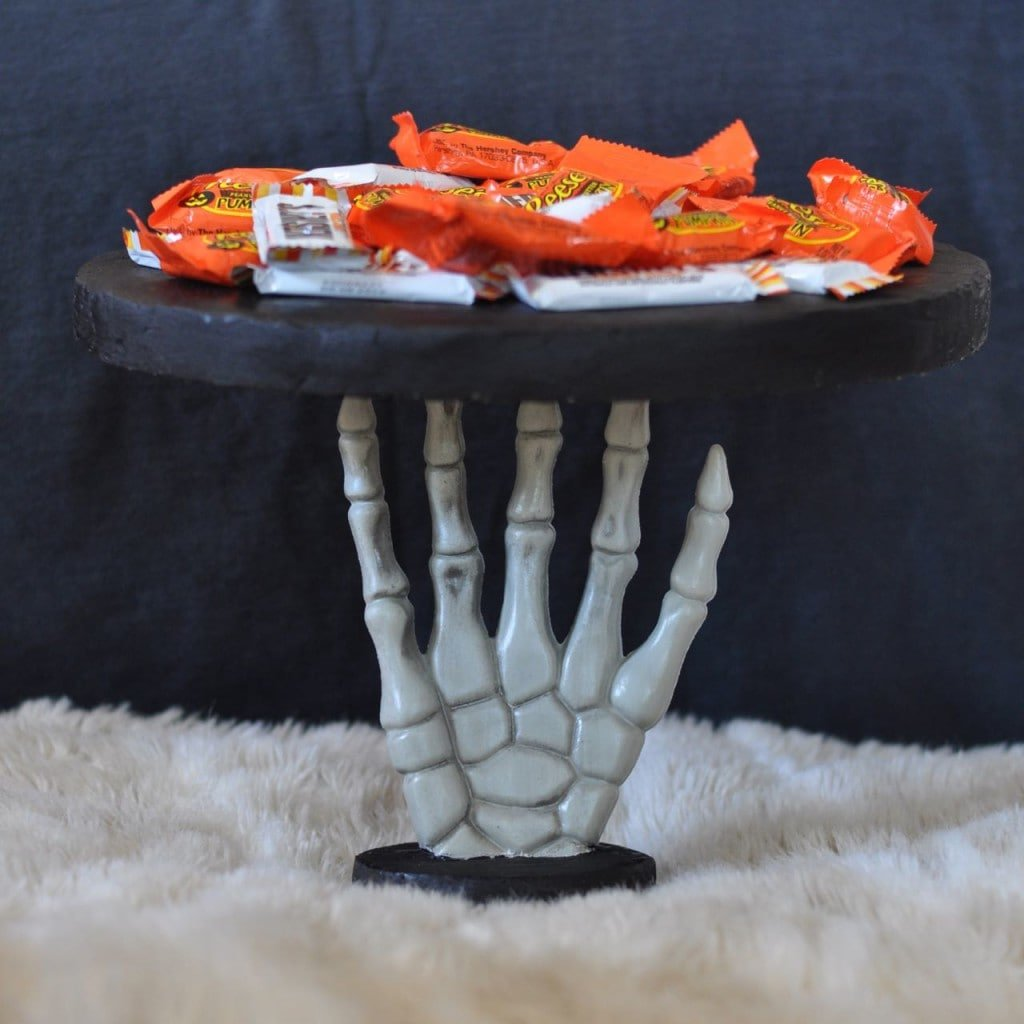 DIY Halloween Candy Serving Dish