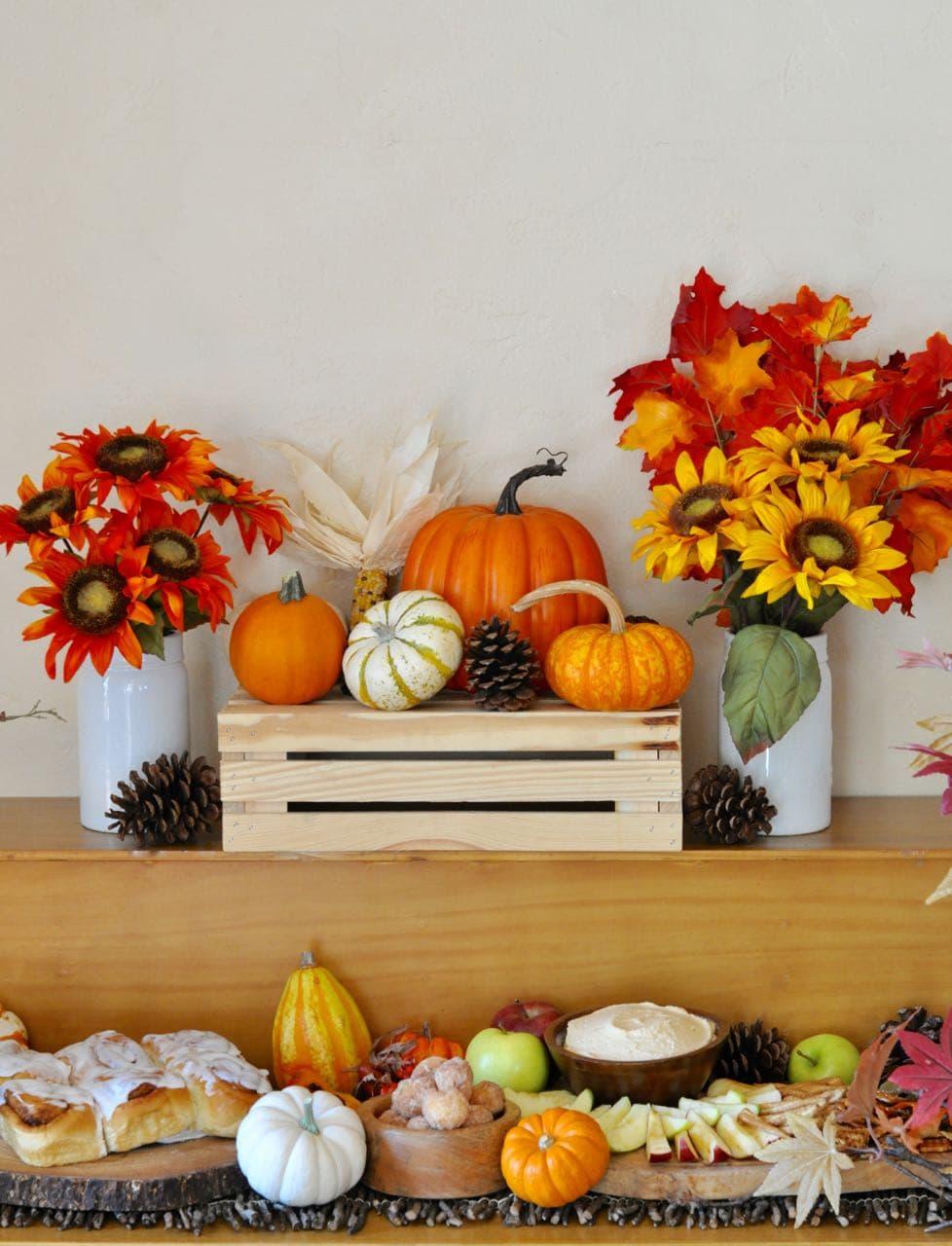 Fall get together and pumpkin cheesecake dip recipe make