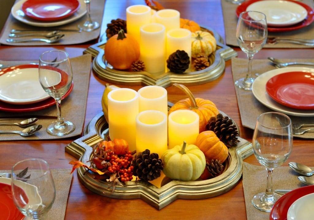 Fall Thanksgiving centerpice