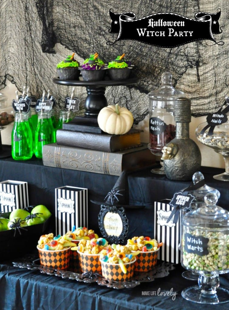 Halloween Witch Party Ideas