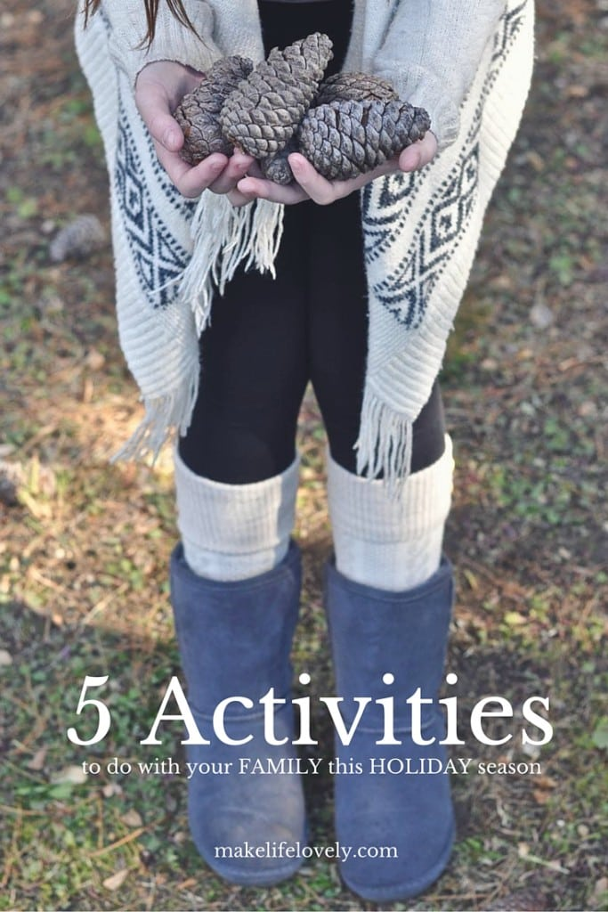 5 Activities to do with your kids this Christmas holiday season