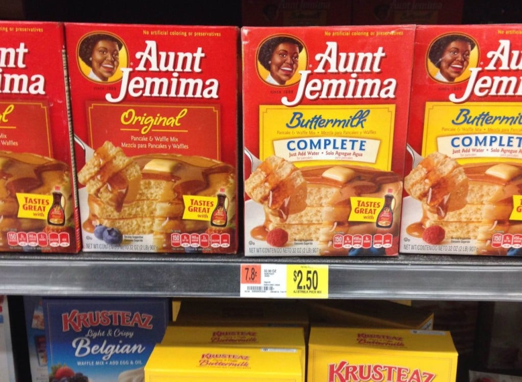 Aunt Jemima at Walmart