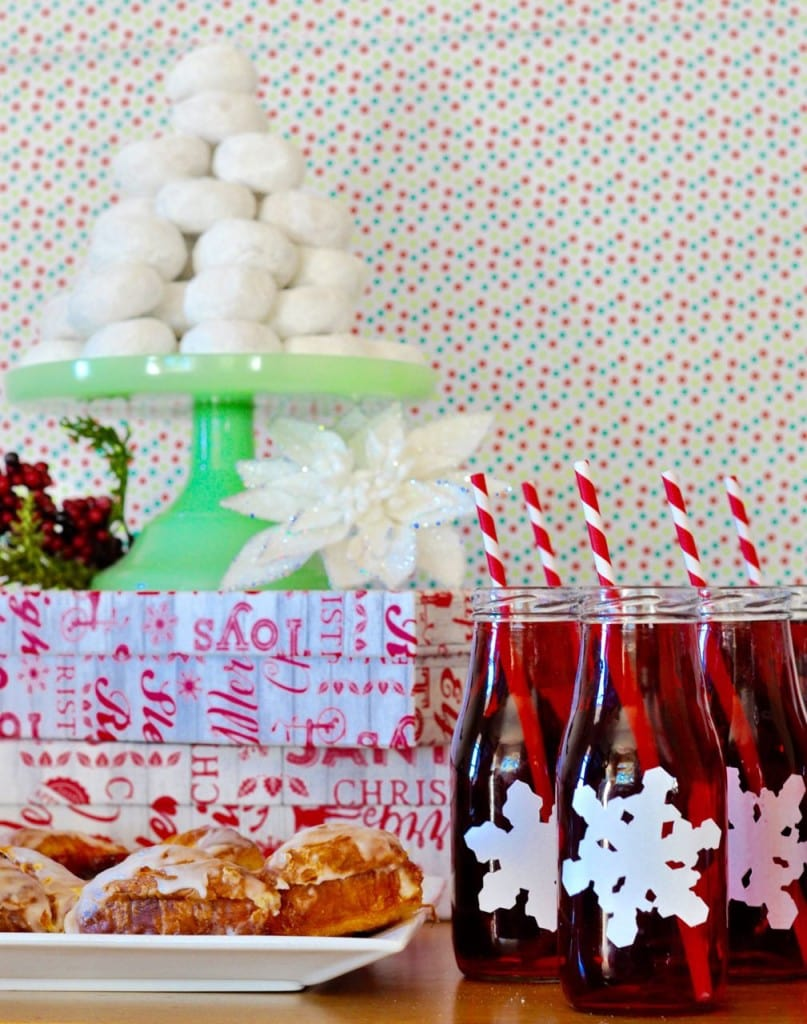 Christmas brunch table ideas