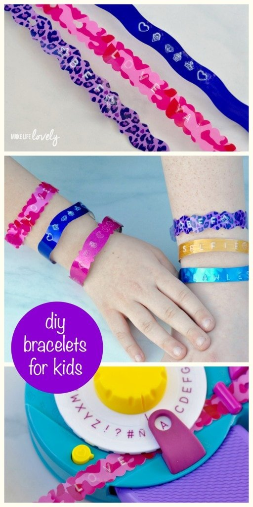 DIY Bracelets for Kids by Make Life Lovely