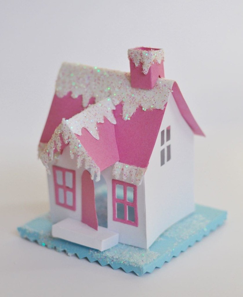 DIY Paper Winter Village