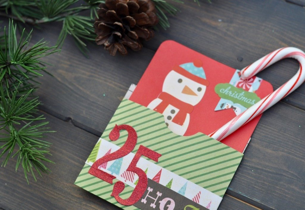 Christmas Card with Sizzix and Brenda Walton dies