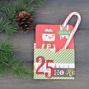 Christmas Card with Sizzix and Brenda Walton