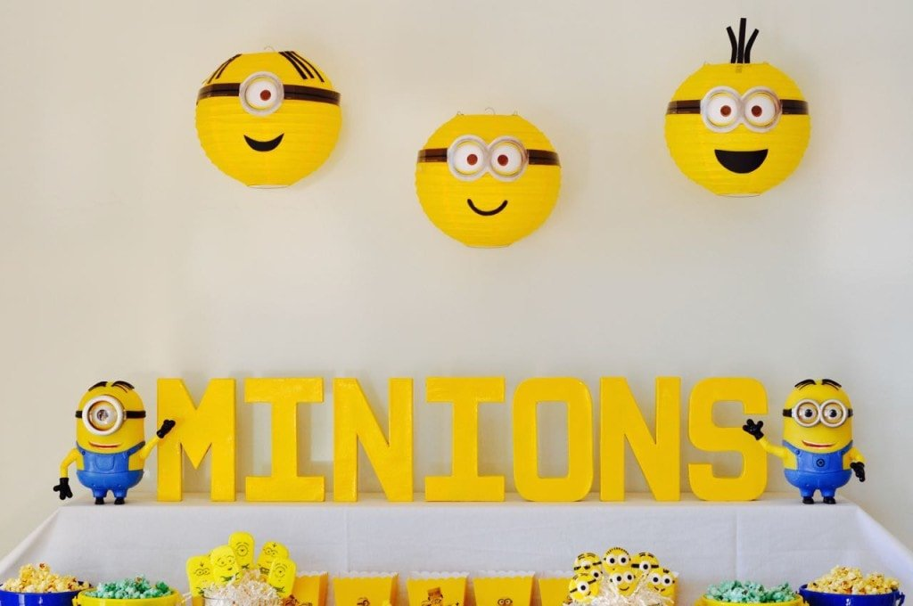 Cute Minions Party Ideas