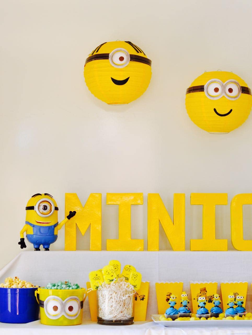 Minions Party + DIY Minions Paper Lanterns - Make Life Lovely