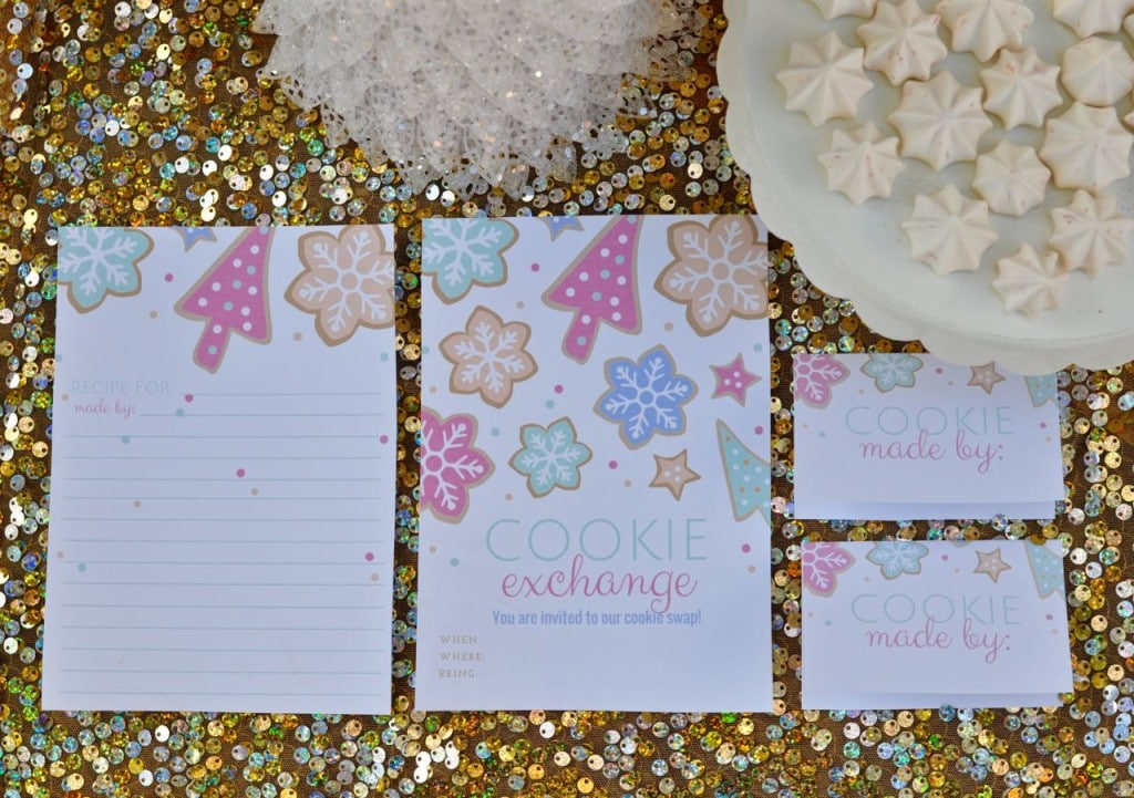 Cookie exchange invitations