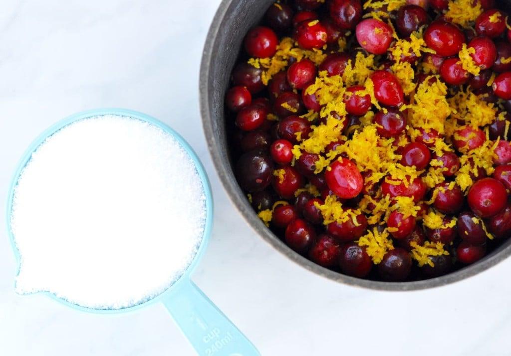 Fresh cranberry orange sauce recipe... YUM!