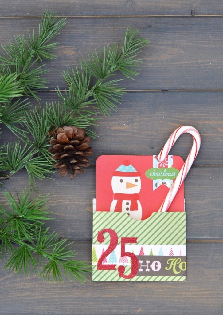 Holiday Pocket Card with Sizzix