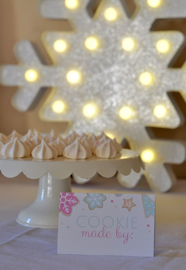 Christmas cookie exchange + FREE printables