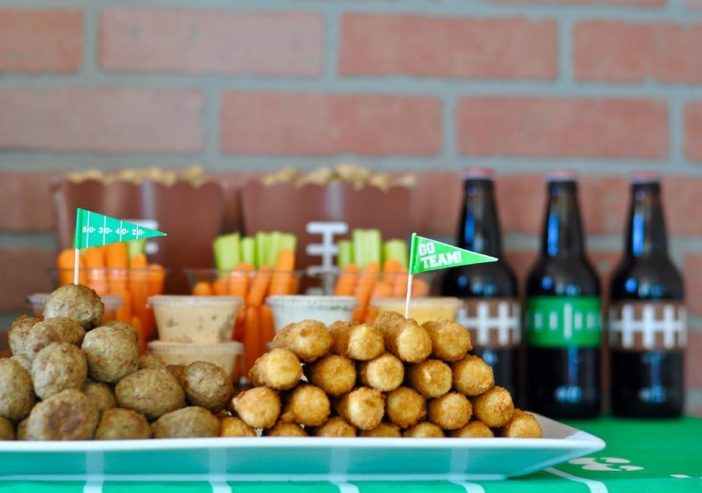 Appetizers for a football party