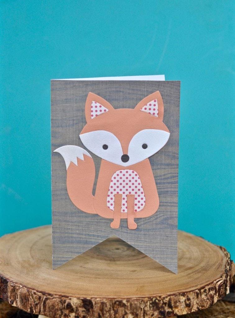 Fox Card with Lori Whitlock Fox die