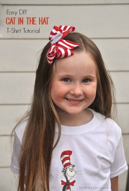 DIY Dr. Seuss shirt tutorial