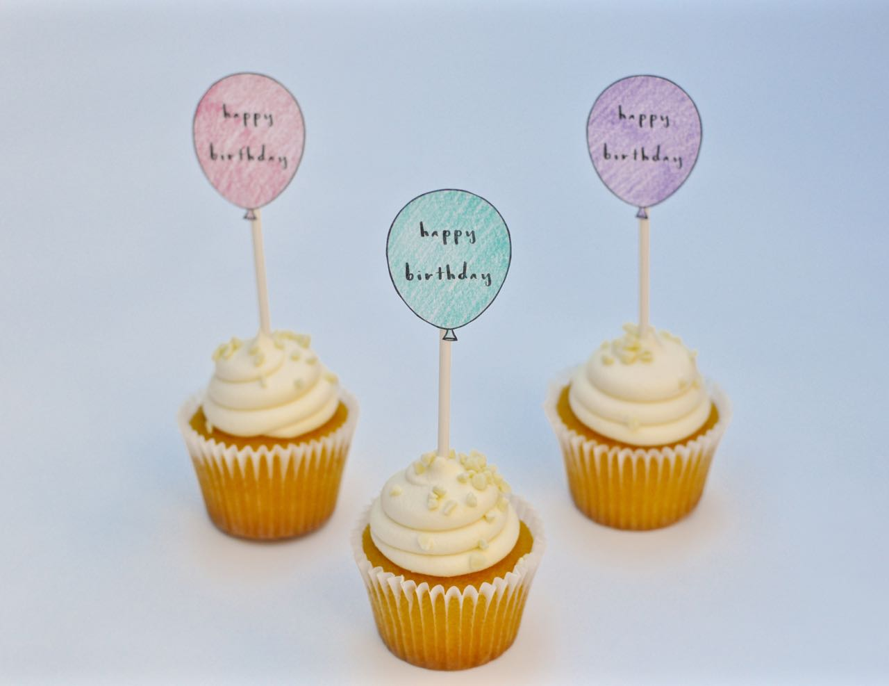 Awe Inspiring Free Printable Birthday Cupcake Toppers Make Life Lovely Funny Birthday Cards Online Fluifree Goldxyz