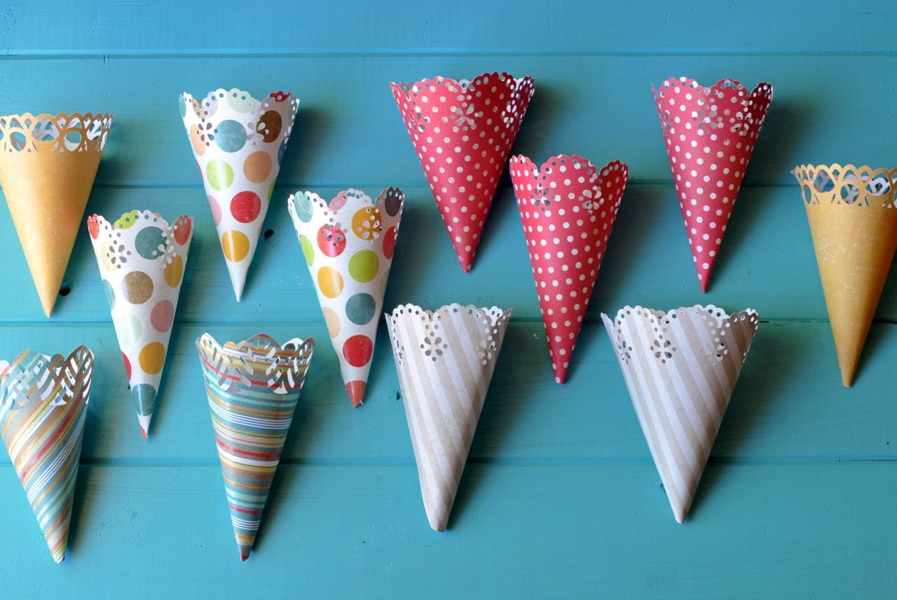 How To Make Candy Cones Life Lovely