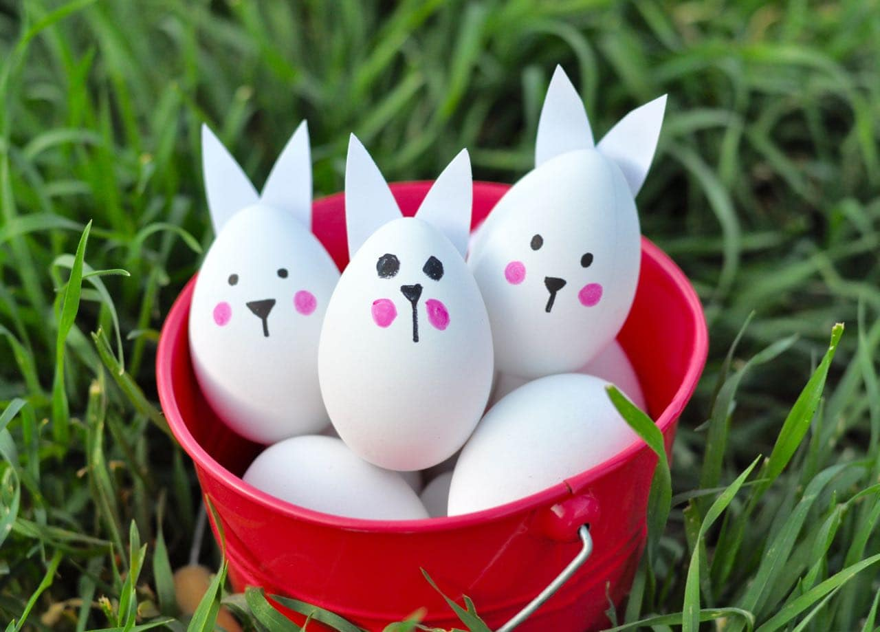 How to make Easter bunny eggs