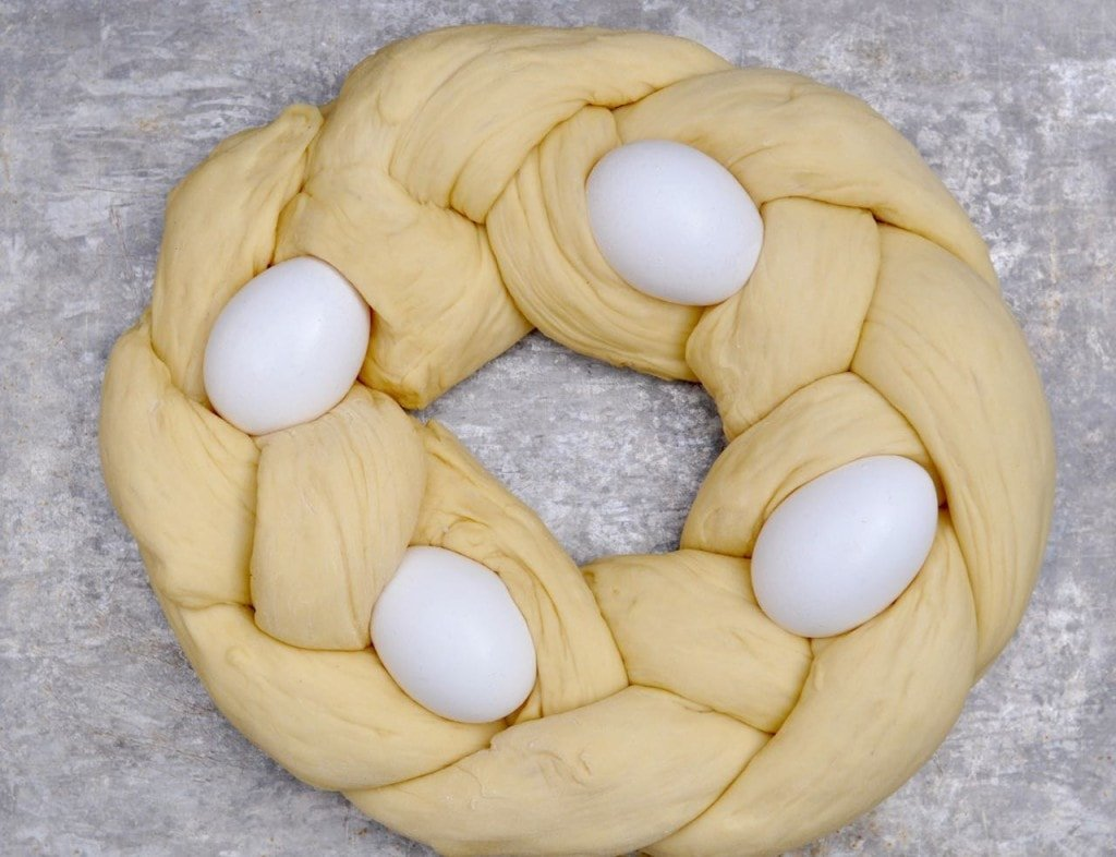 Easter braid recipe
