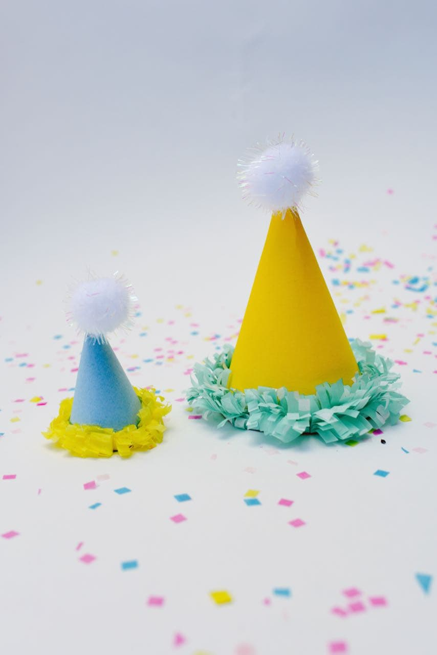 Mini Party Hats DIY - Make Life Lovely