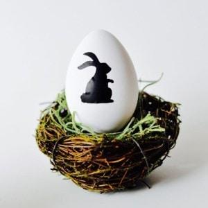 Vinyl Easter egg decoration craft