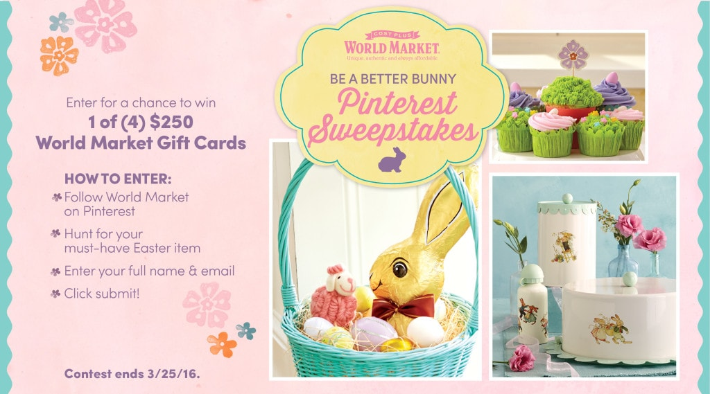 World Market Easter Sweepstakes
