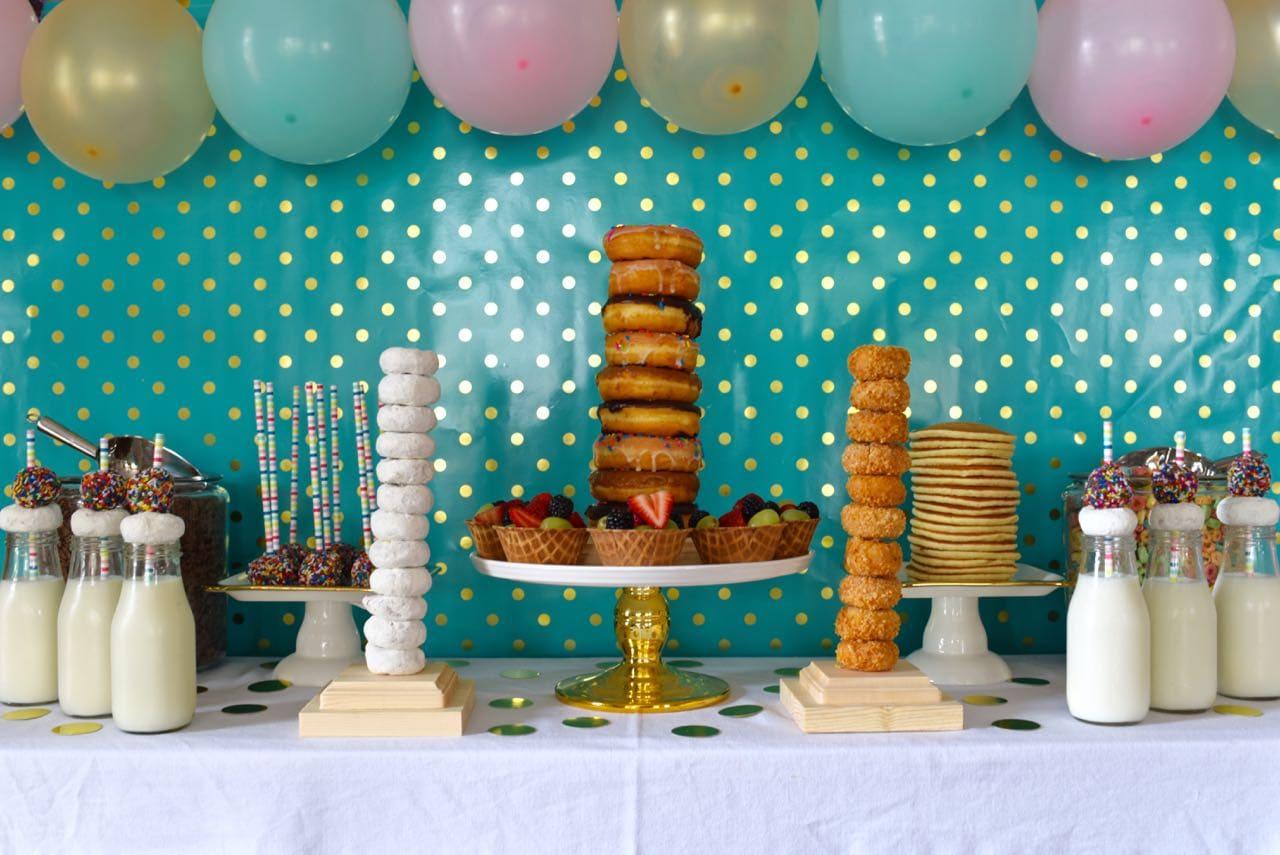 Pancakes and pajams party
