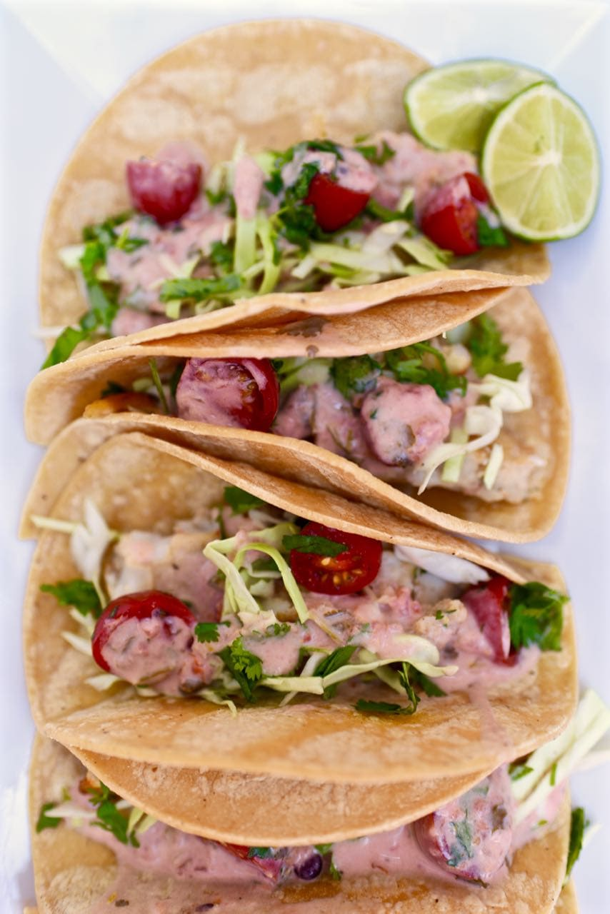 Delicious fish taco sauce recipe. Only 3 ingredients!