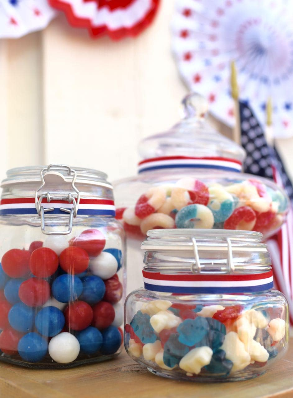 Fourth of July Old Fashioned Candy Bar