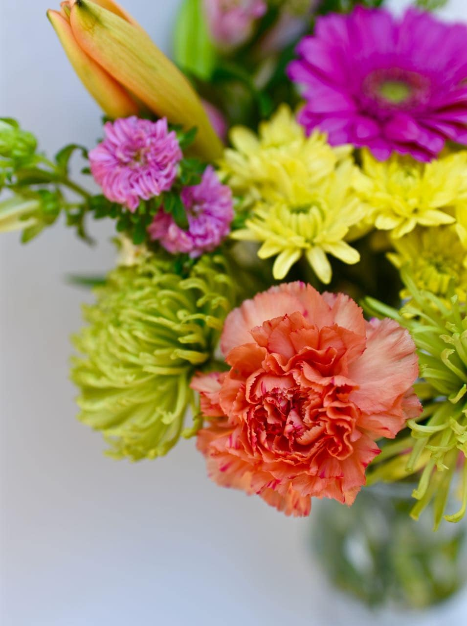 Grocery store flowers hack
