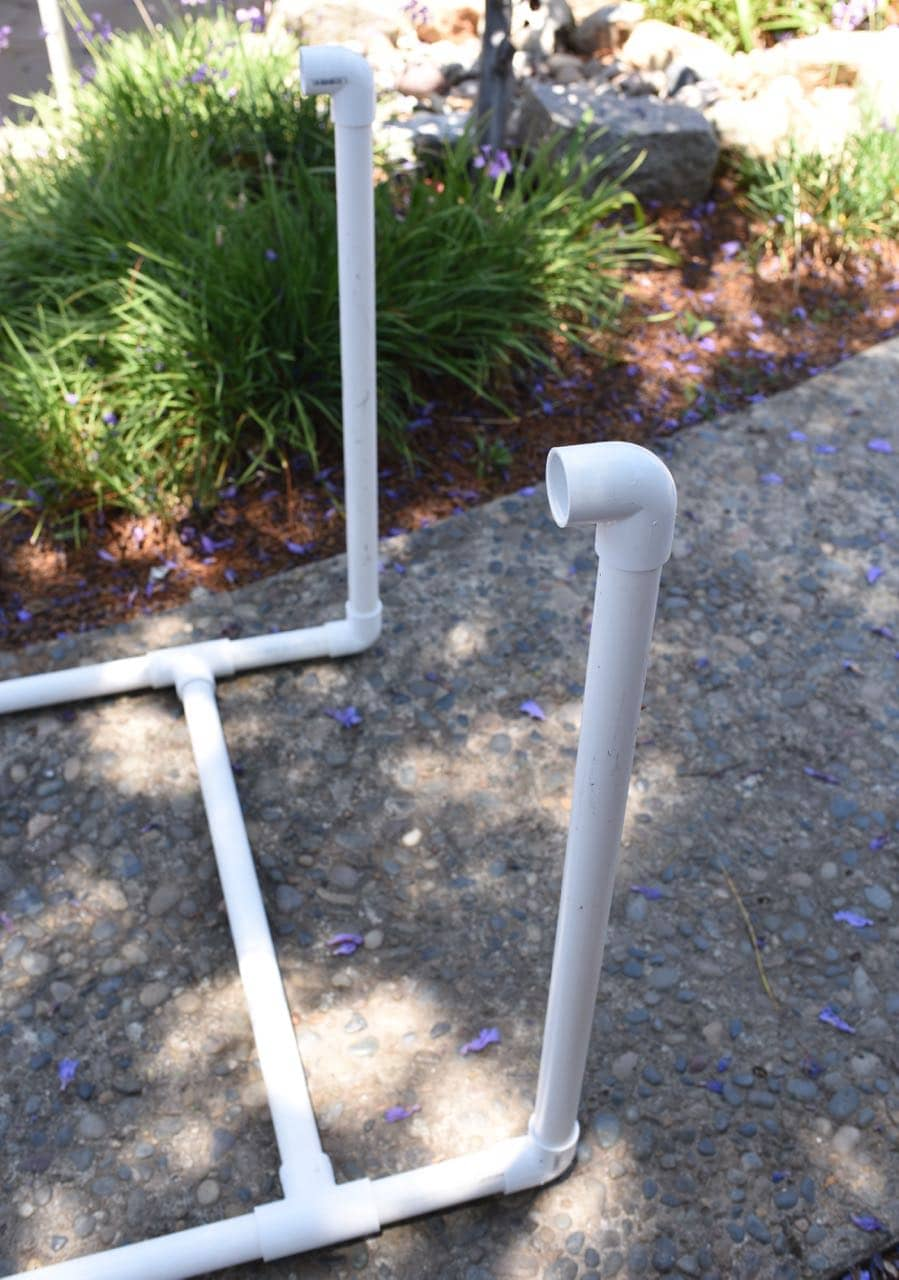 PVC Pipe Towel Holder DIY