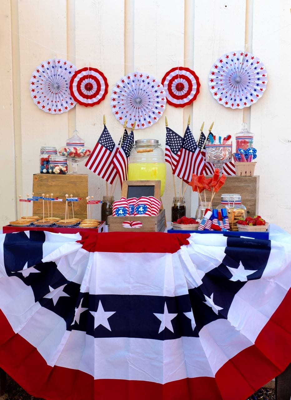 Old Fashioned Fourth Of July Party Make Life Lovely