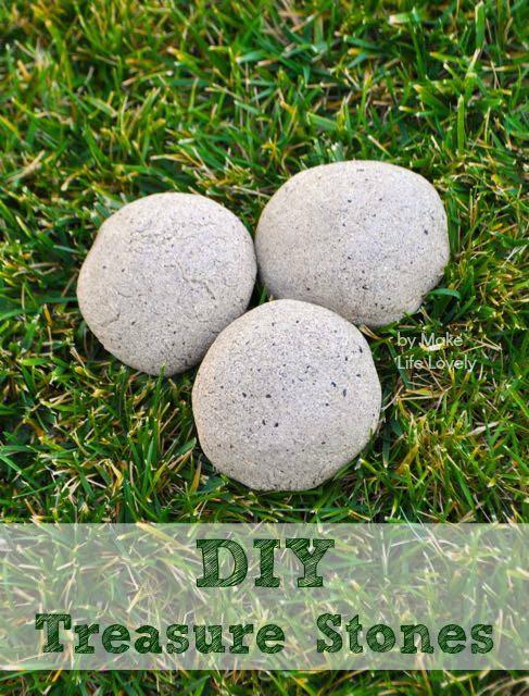 DIY Treasure Stones Tutorial