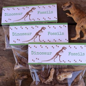 FREE Dinosaur Printable Treat Toppers