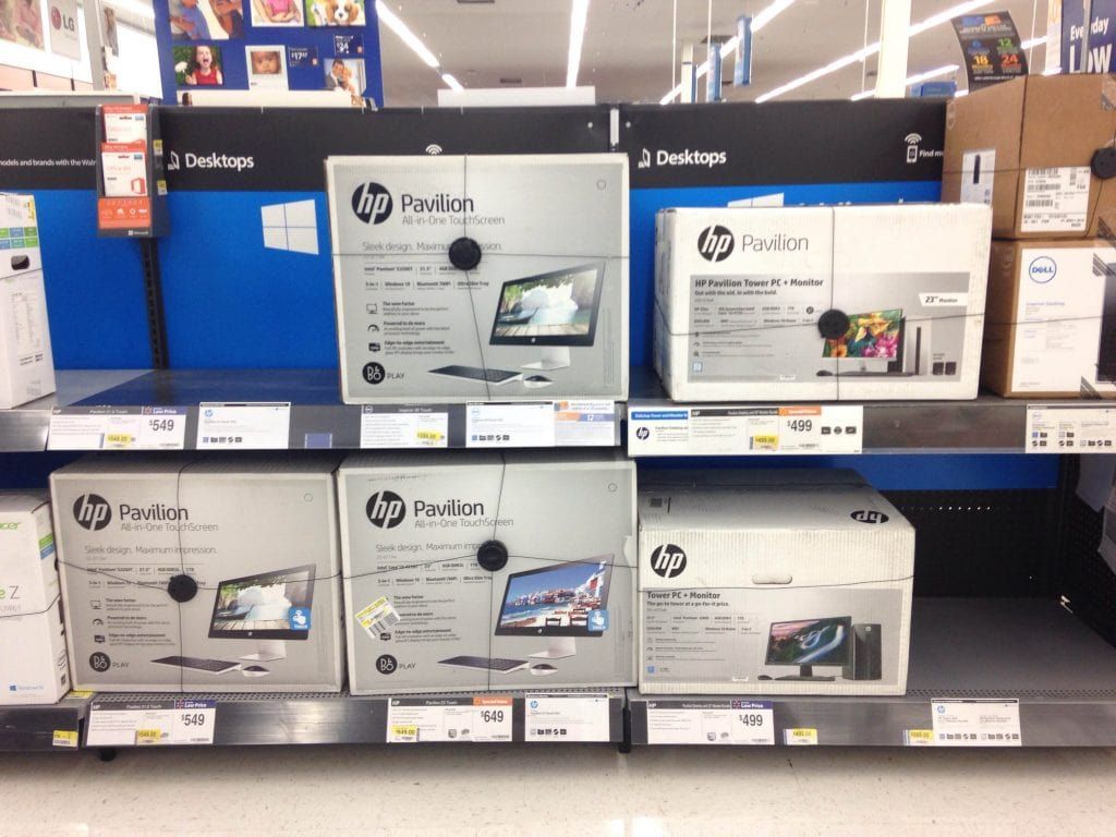 HP at Walmart for back to school
