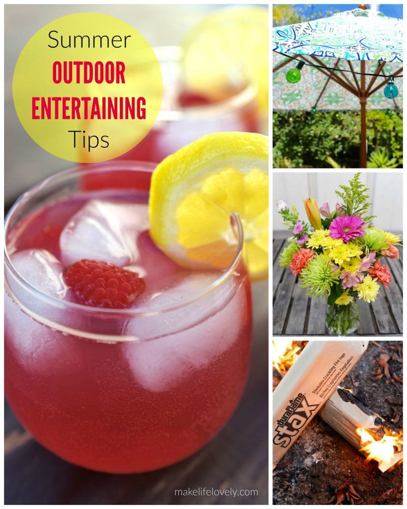 Summer Outdoor Entertaining Tips