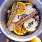 Stove Potpourri Recipe for Fall